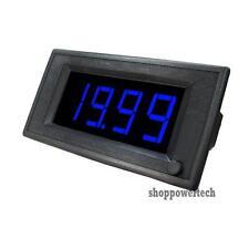 20V 10A DC Blue Digital Led Boat Solar Panel Amp Volt Combo Meter+Shunt