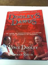 DOOLEY'S DAWGS BOOK AND VINCE DOOLEY AUTOGRAPH