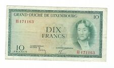 Luxembourg - 10 Francs