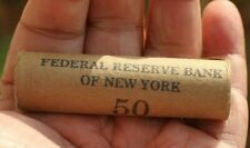 Indian Head Penny .50 Cent Roll Form The Federal Reserve Bank Of New York