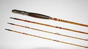 8 1/2' 3/2 Winchester model 6005 - Edwards built bamboo fly rod VG/EX NR