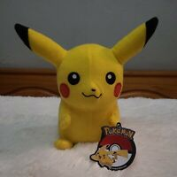 """Official Licensed Pokemon Pikachu Plush Stuffed Doll Toy Gift Kids Authentic 10"""""""