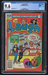 Laugh #380 CGC 9.6 (Archie 12/83) Cheryl Blossom appearance
