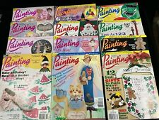 Decorative Arts Painting, Lot Of 12 Magazines, 1995-1996, Complete Years