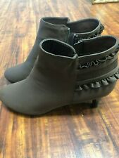 Softwear Jazlyn Brown Dress Bootie Size 9