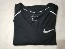 NWT Men's Nike Rise 365 Running Tank Black Size Small