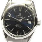 OMEGA Seamaster Aqua Terra 2504.80 Date Navy Dial Automatic Boy's Watch_629048