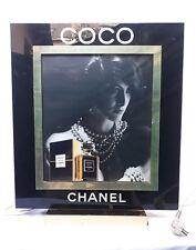 Ancienne et grande Enseigne Lumineuse Parfum Coco Chanel - PLV- Fonctionne