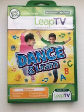 NEW! LeapFrog LeapTV 'DANCE & Learn Educational, Active Video Gaming Game