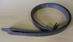"""PAIR OF CLIFF BARNSBY HAVANA STIRRUP LEATHERS  5mm THICK 40"""" X 1 1 3/8"""""""