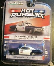 Greenlight Hot Pursuit Series 14 1967 Chevy Biscayne Wisconsin WI State Police