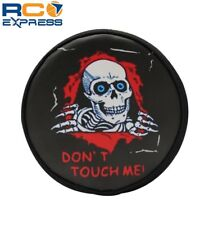 Hot Racing-1/10 Scale Skull Don t Touch Me Spare Tires Cover - TRX4 (-TRXF36117K