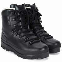 Mil-Tec Mens Black German Army Mountain Boots Windproof Combat UK5-14