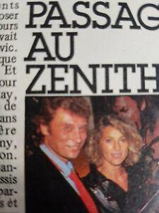 Sheila article du magazine Confidences. Février 1985.