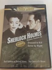 Sherlock Holmes Double Feature #2 (DVD, 2006). Brand New And Sealed.