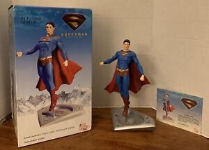06 DC Direct Superman Returns SUPERMAN IN FLIGHT 1103/2500 Gentle Giant Studios