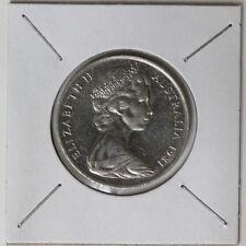 Australia 1981 Uncirculated Twenty 20 Cents 3 1/2 claw canada mint (320527/C3)