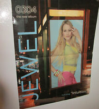 Jewel Poster Rock 2003 Record Store Promo Collectable Display Vintage