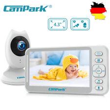 4.3 Zoll Wireless Baby Monitor Split Screen Babyphone mit Kamera Babypflege DE