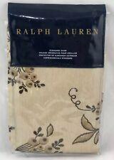 New Ralph Lauren Plage D'Or D Or Standard Pillow Sham Floral Champagne $130