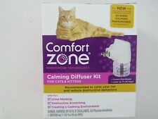 Comfort Zone Calming Diffuser Kit for Cats & Kittens  NEW SHIPS FREE