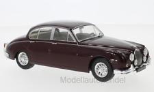 Jaguar MK II, dunkelrot, 1960 - 1:24 Whitebox  *NEW*