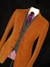 MENS GIEVES & HAWKES SAVILE ROW LONDON CORDS TOWN & COUNTRY SUIT 40R W34 X L32