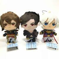 GRANBLUE FANTASY Lucifer/Belial/Sandalphon Plush Mascot Set FURYU Gift Japan