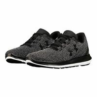 Under Armour Remix Fw18 Womens Athletic Outdoor Running Shoes Black 3020377-001