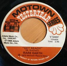 Rare Earth 45 Get Ready / (I Know) I'm Losing You  reissue