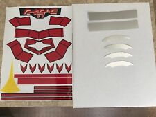 REPRO STICKERS - Raydeen/Raideen Jumbo Machinder Shogun Warrior Mattel - 1st Ed