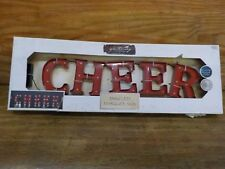 Cheer LED Marquee Sign Wall Decor
