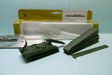 Roco Minitanks - PONT MOBILE BLINDE TYPE BIBER brückenlegepanzer 427 neuf NBO HO
