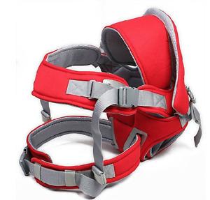 Cotton Infant Baby Adjustable Wrap Sling Front Back Carrier 6 position Max 18kg