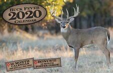 2020 BUCKFEVER DELUXE WALL CALENDAR antlers deer bow hunting