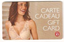 CARTE CADEAU-GIFT CARD-ROUGEGORGE (sexy woman lingerie) NOUVEAUTE 2018