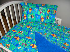 Winnie the POOH Toddler Crib Bedding Rag Quilt Sheet Pillow Case TIGGER PIGLET