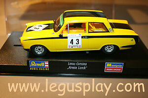 Slot Scalextric Revell 08329 Lotus Cortina Armin Lorch