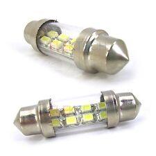 AS Vision FT-8LED 36mm White Auto LED Interior Lighting Festoon Type Bulb 12Volt