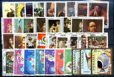 PANAMA 50 DIFFERENT STAMPS LOT USED + 1 BLOCK IMPERFORATE MNH VF