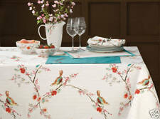 "Lenox Chirp Tablecloth 60"" x 120"" Oblong, New, Free Shipping!"