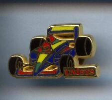 RARE PINS PIN'S .. AUTO CAR F1 RALLYE TEAM UNISYS ARTHUS BERTRAND  ¤1J