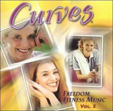 Various Artists : Curves Freedom Fitness Music 5 CD