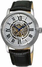 Stuhrling Mens 1077 33152 Delphi Venezia Automatic Analog Skeleton Leather Watch