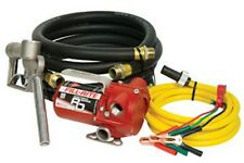 12V DC Portable Pump with Hose and Nozzle FIL-RD812NH Brand New!