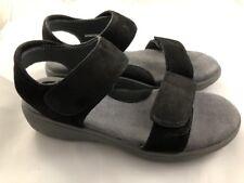Softwalk Elevate 2.0 Wedge Sandal Black Size 7.5 N