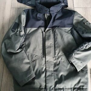 Mens Icon Oakley Jacket With Detachable Hood Large