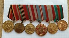 SOVIET USSR BLOCK MEDALS 30 YEARS OF THE USSR ARMY AND NAVY
