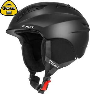 Gonex Classic Ski Helmet with Safety for men and women