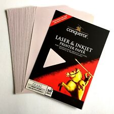 £11 WHITE CX22 WOVE CARD 160GSM 150 SHEETS  A4 OR 75 SRA3 CONQUEROR  B VAT